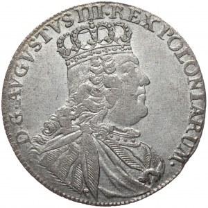 Kolekcja Piotra Anuszczyka, tymf 1753, Lipsk, wczesny typ, kropka po T.