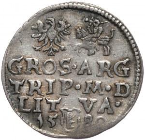 Stefan Batory, trojak 1580, Wilno