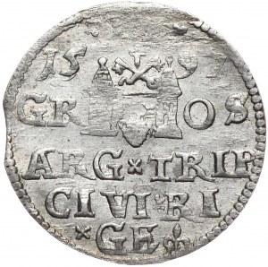 Zygmunt III Waza, trojak 1597, Ryga