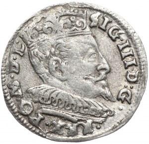 Zygmunt III Waza, trojak 1594, Wilno, kropki
