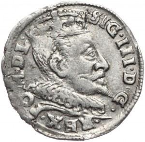 Zygmunt III Waza, trojak 1594, Wilno, gwiazdki