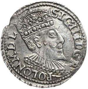 Zygmunt III Waza, trojak 1595, Olkusz, D G R POLON