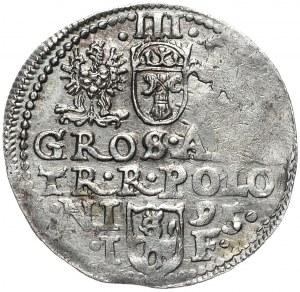 Zygmunt III Waza, trojak 1595, Olkusz, D G POLON
