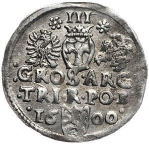 Zygmunt III Waza, trojak 1600, Bydgoszcz