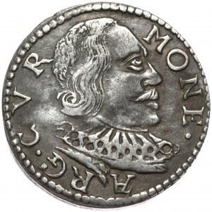 Kurlandia, Wilhelm Kettler, trojak 1598, Mitawa, błąd ES zamiast SE