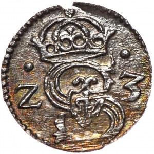 Zygmunt III Waza, denar 1623, Łobżenica