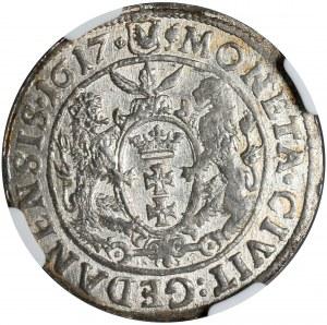 Kolekcja ortów polskich, ort 1617, Gdańsk, NGC MS 61