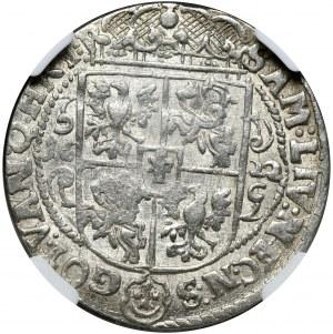 Kolekcja ortów polskich, ort 1622, Bydgoszcz, z błędem NEC.N:S