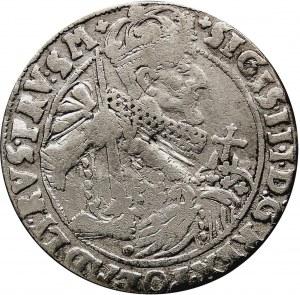 Kolekcja ortów polskich, ort 1624, Bydgoszcz, z błędem interpunkcji na awersie -PRV:SM+