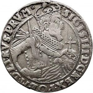Kolekcja ortów polskich, ort 1624, Bydgoszcz, PRV:M+, otwarty herb Sas