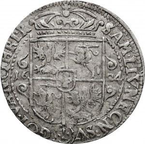 Kolekcja ortów polskich, ort 1624, Bydgoszcz, PRV:M+