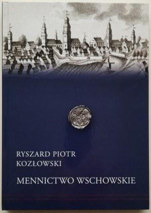 Ryszard Piotr Kozłowski, Mennictwo Wschowskie, z autografem autora