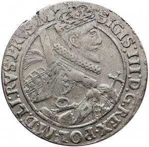 Kolekcja ortów polskich, ort 1621, Bydgoszcz, PRVS.M+ z 2. błędami, bardzo rzadki.