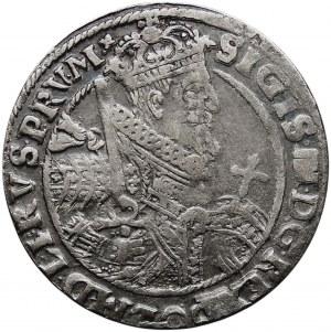 Kolekcja ortów polskich, ort 1622, Bydgoszcz, PRV.M.+, ciemna patyna, z błędami