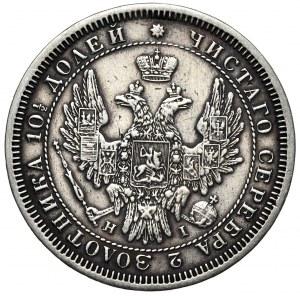 Rosja, Mikołaj I, połtina 1853 СПБ HI, Petersburg