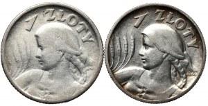 Zestaw 1 złoty 1924 i 1925 - razem 2 szt.