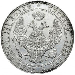 Zabór rosyjski, Mikołaj I, 3/4 rubla 5 złotych 1840 MW, Warszawa