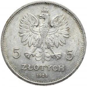 5 złotych 1928 Nike, Warszawa