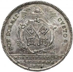 Niemcy, Ratyzbona-miasto, półtalar 1774 z tytulaturą Józefa II