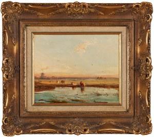 Carl Hilgers (1818-1890), Rozlewiska koło Roterdamu, 1881
