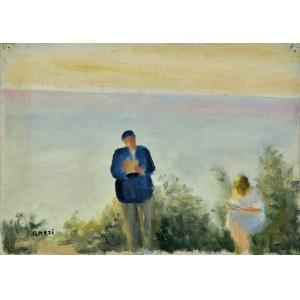 Aneri Irena Weissowa (1888-1981), Nad morzem, 1935