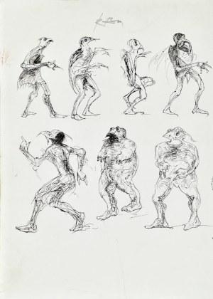 Roman Banaszewski (Ur. 1932), Szkice postaci baśniowych