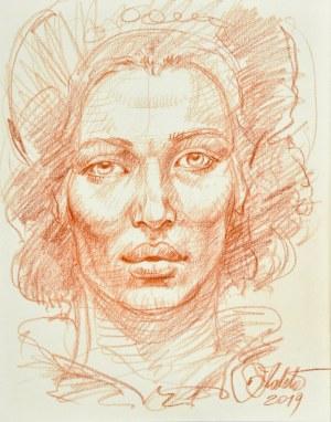 Dariusz Kaleta Dariuss (Ur. 1960), Głowa kobiety, 2019
