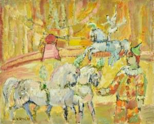 Henryk Krych (1905 - 1980), W cyrku