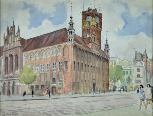 Władysław Serafin (1905-1988), Ratusz w Toruniu