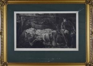 Jacek Malczewski (1854-1929) - Według, Śmierć Ellenai