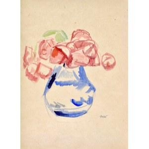 Wojciech Weiss (1875-1950), Kwiaty w wazonie, 1907