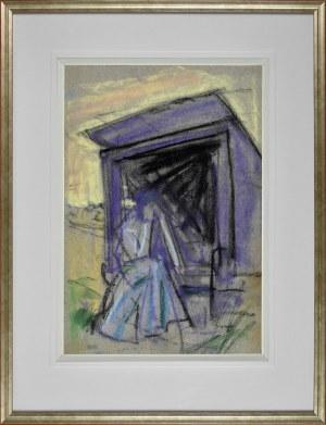Wojciech Weiss (1875-1950), Scena symboliczna, ok. 1902