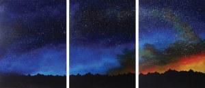 Klaudia Krupa, Gwiezdny pył (tryptyk), 2020