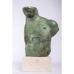 Igor Mitoraj (1944-2014), [rzeźba, brąz, certyfikat] Asklepios