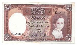 IRAK - 1/2 dinara 1931 (1942)