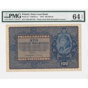 100 marek 1919 - IH Serja X - PMG 64 EPQ
