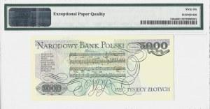 5.000 złotych 1982 - seria AA - PMG 66 EPQ