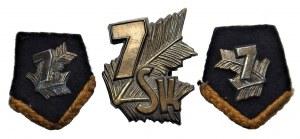 7 Batalion Strzelców Karpackich + dwie patki