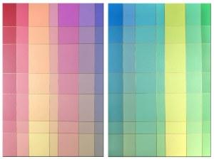 Izabela Kozłowska (ur. 1969), Power of color, dyptyk, 2020