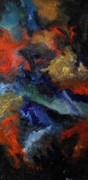 Marcin Pińkowski (ur. 1992), Galaktyka i Droga Mleczna nocą, 2020