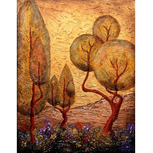 Robert Piasecki (ur. 1959), Autumn Ray's Midas Touch, 2020