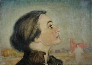 Ludwik KWIATKOWSKI (1880-1953), Portret kobiety