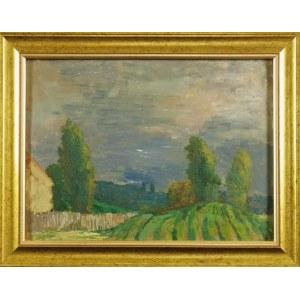 Leonard PĘKALSKI (1896-1944), Pejzaż przed burzą, lata 30. XX w.