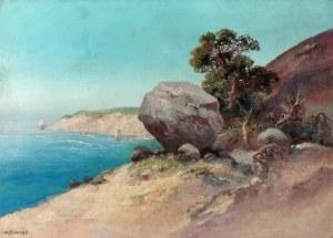 Aleksander KRAWCZYK (1882-1949), Dzika plaża