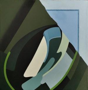 Antoni Janusz WOJNAROWSKI  (ur. 1946), Kompozycja AB. 50/1 nr 90/A, 2008