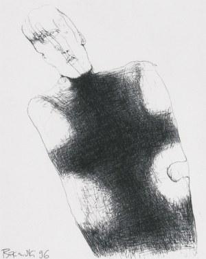 Beksiński Zdzisław, BEZ TYTUŁU, 1996