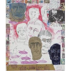 Dwurnik Edward, ONI CHCĄ CZOŁGÓW, Z CYKLU ROBOTNICY, 1981
