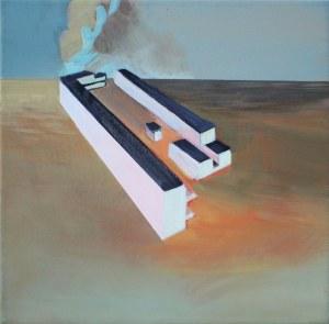 Maria Kiesner, Makieta, projekt Lacherta, 2018