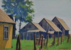 Krzysztof Chyży, Pejzaż ze stodołami