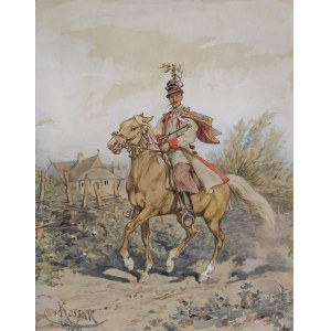 Kossak Juliusz, KRAKOWSKI DRUŻBA, 1896